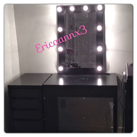 broadway mirror with lights beauty fashion and lifestyle blog diy lighted makeup