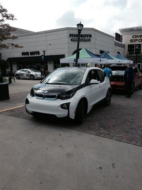 Leith Bmw by Test Driving Up A At The Drive Electric Fair Leith Bmw