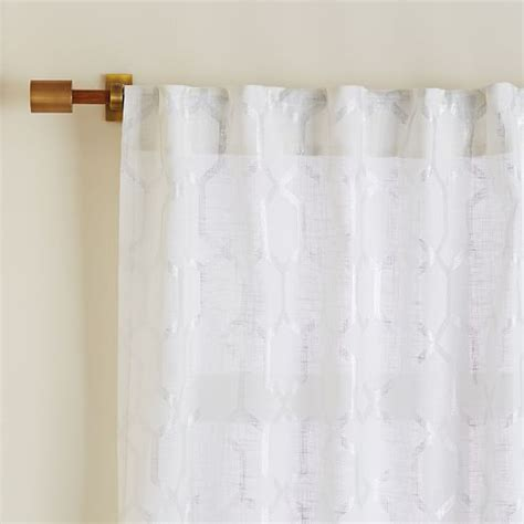 Moorish Tile Curtains Moorish Tile Printed Curtain West Elm