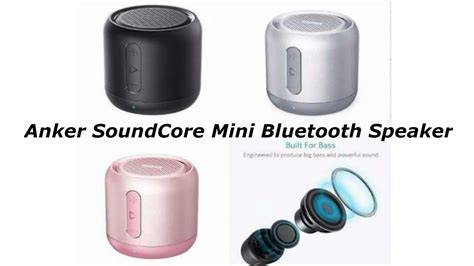 Anker Soundcore Mini Bluetooth Speaker Original anker soundcore mini bluetooth speaker