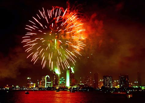 file us navy 050704 n 9500t 004 fireworks light up the san