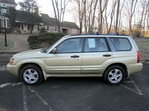 2003 Subaru Forester 2 5xs by Find Used 2003 Subaru Forester 2 5xs And No Reserve In New