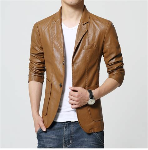 Arden Blazer High Quality m 6xl 2016 new style high quality leather blazer bq22 plus size blazer masculino slim