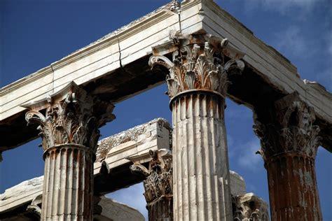 temple of zeus corinthian columns detail photo declan mccullagh photograph ancient studs
