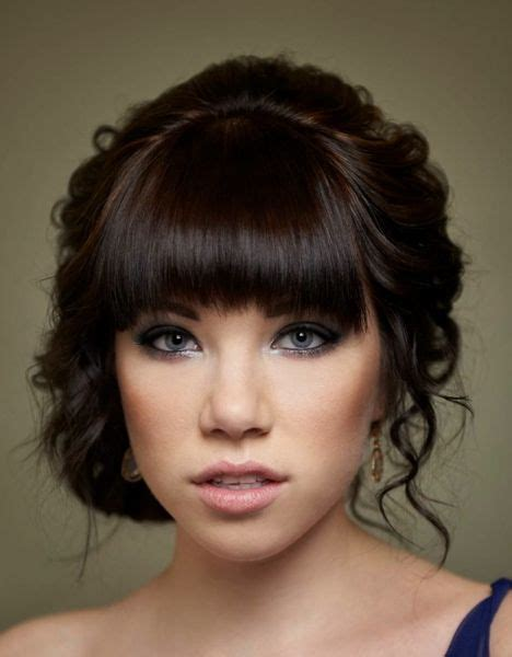 elegant hairstyles with fringe 17 best images about blunt fringe up do s on pinterest