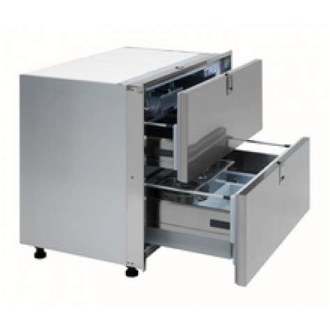 Drawer Refrigerator And Freezer by Isotherm Dr160 Inox Light 160 Litre Stainless Steel