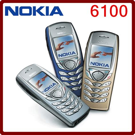 One Time Free Cell Phone Lookup 6100 Original Nokia 6100 Bluetooth Gsm 2g Unlocked Cheap Cell Phone One Year Warranty