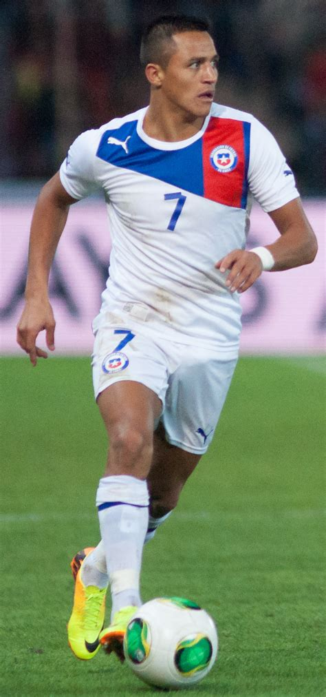 alexis sanchez history file alexis sanchez spain vs chile 10th september 2013