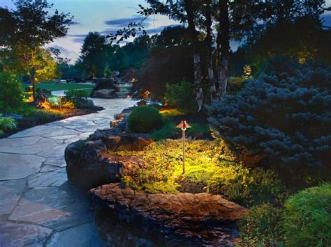 landscape lighting placement 11 stunning photos of landscape lighting pegasus lighting