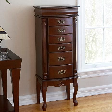 Jewelry Armoire Hsn by Medium Mahogany Jewelry Armoire 6408522 Hsn