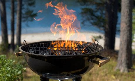 a barbecue for herbivores and carnivores alike occupy