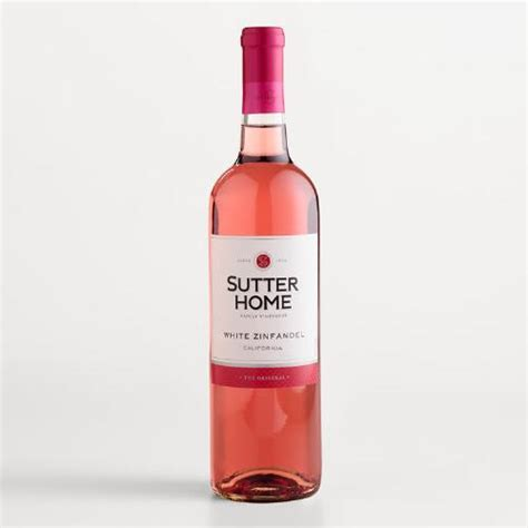 sutter home white zinfandel world market