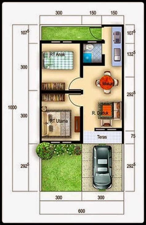 desain rumah minimalis type  desain rumah small home plan pinterest house smallest