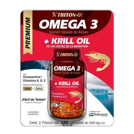omega  solanum pharma aceite de krill  capsulas de