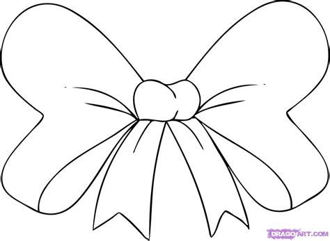 how to your to bow how to draw a hair bow step by step stuff pop culture free drawing tutorial