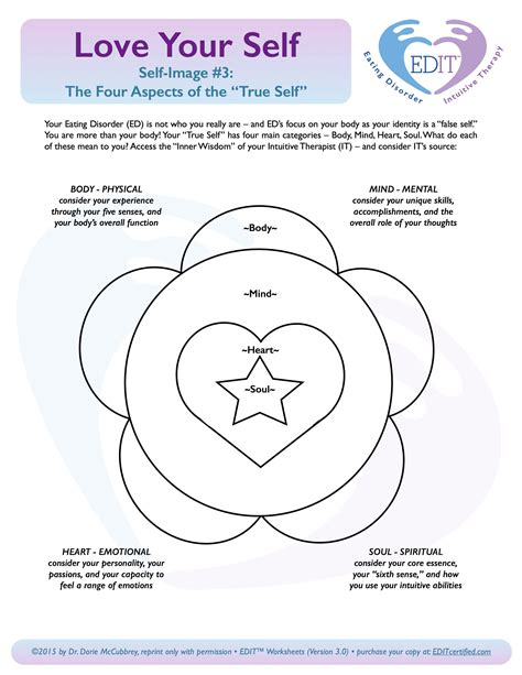 Spirituality And Recovery Worksheets by Disorder Recovery Of The True Self Editcertified
