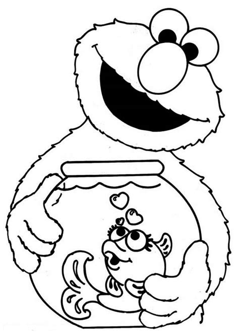 Printable sesame street coloring pages   ColoringStar