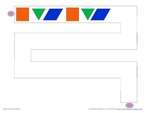 pattern block blackline masters printable pattern block activity sheets great for working