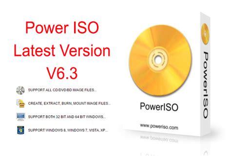 poweriso latest full version download 17 poweriso 6 3 latest full version