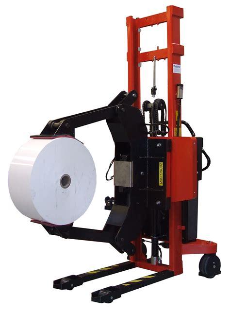 Paper Equipment - reel handling equipment packline materials handling