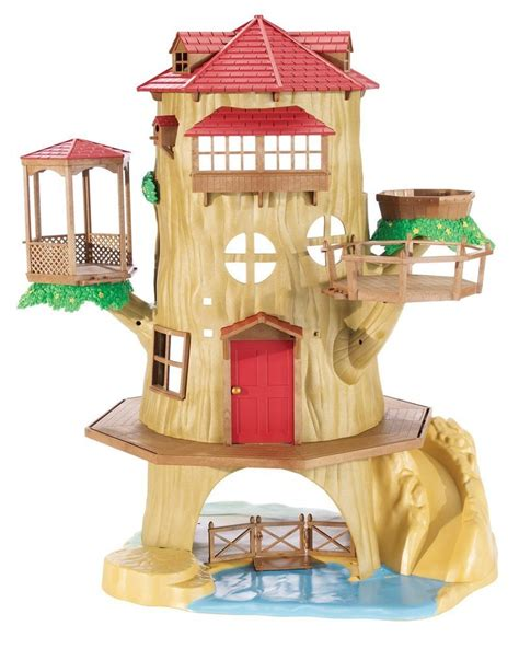 calico critters tree house calico critters country tree house unisex playset tree house cc2044 ebay
