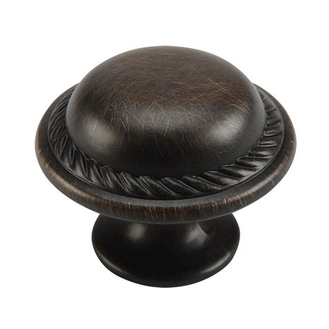 bronze kitchen cabinet knobs cabinet knobs and handles rubbed bronze rope cabinet knob cosmas 4688orb