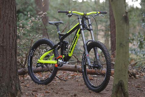 downhill bike sale identiti dh bike at track in cambridge united kingdom