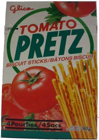 Glico Tomato Pretz tomato pretz biscuit sticks walmart canada