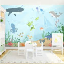 Sea Wall Murals Under The Sea Wall Mural