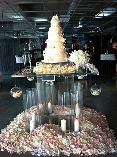our wedding cake and amazing acrylic stand   Wonderful
