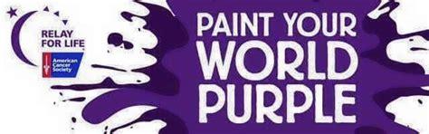 relay for paint your world purple spiritual awakening