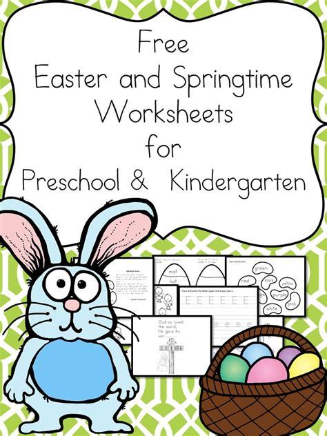 free easter worksheets for kids