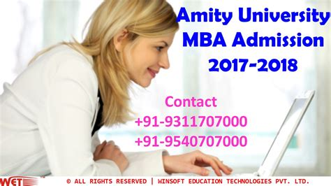 Mba In Event Management Amity by Amity Mba Admission 2017 2018 Application