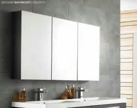Bathroom Mirror Cabinet Quartet Designer Large Mirrored Bathroom Cabinet 2 Colours