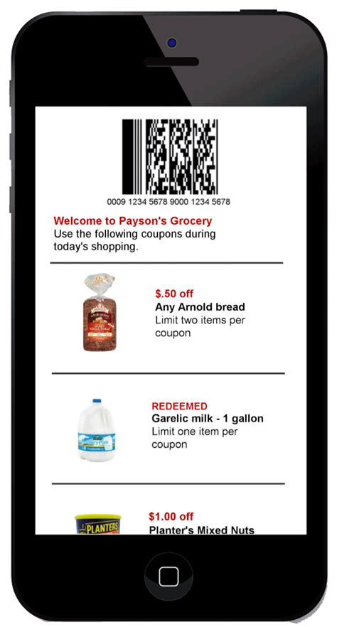 mobile coupons mobile coupon software for retailers codebroker