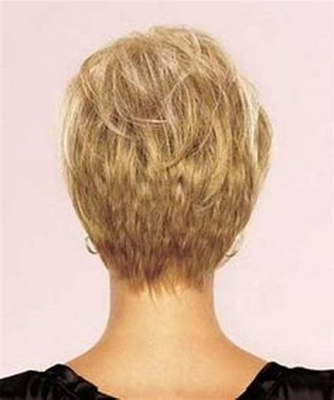 short pixie hair style with wedge in back back view of wedge haircut short hairstyle 2013