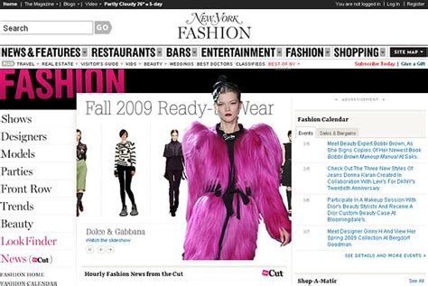 fashion section we just launched a pretty new fashion channel the cut