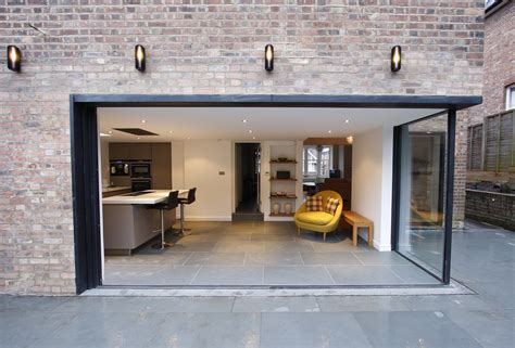 Large Sliding Patio Doors How Large Sliding Glass Doors Enhance Your Interior And Exterior Gorgeous Brick Wall Which Has