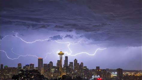 seattle lightning map 2013 weather review for seattle thunderstorms take center