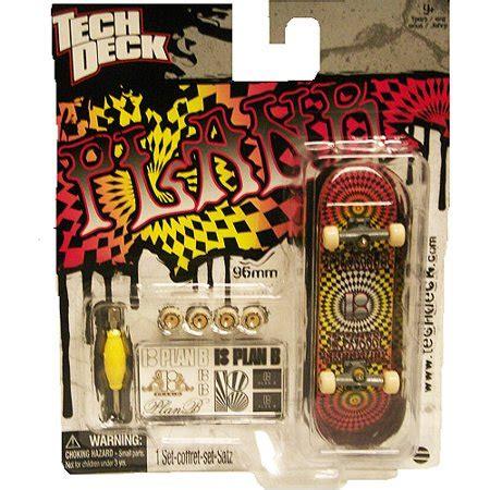 Tech Deck Fingerboard By B Toys tech deck 96mm fingerboard plan b psychedelic walmart