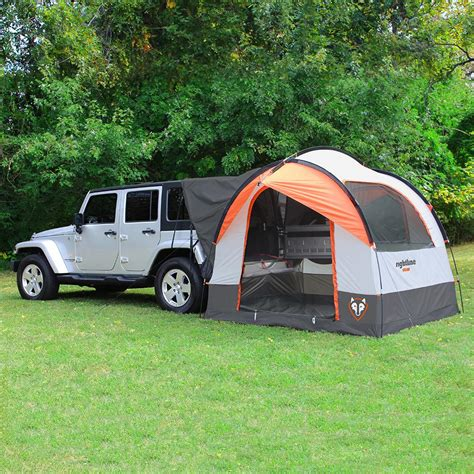 jeep tent inside amazon com rightline gear 110907 suv tent automotive