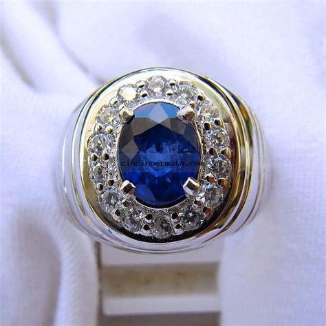 Pirus Royal Blue batu royal blue sapphire cincinpermata jual batu