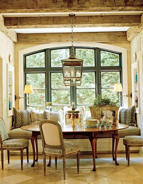 breakfast room banquettes 143 best images about dining french country on pinterest