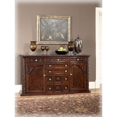 dining room furniture server d553 60 ashley furniture dining room server