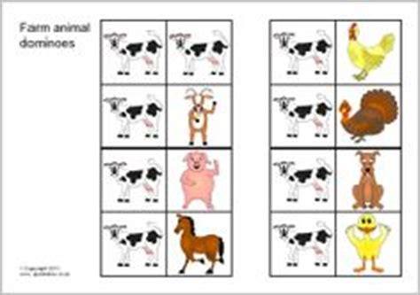 printable animal dominoes 1000 images about boerderijdieren on pinterest farm
