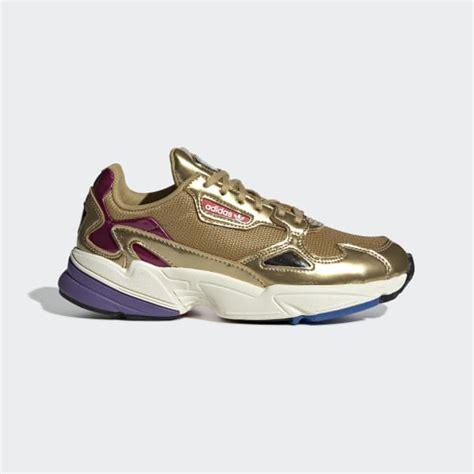 adidas falcon shoes gold adidas us