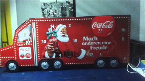 coca cola weihnachtskalender cola weihnachtskalender my