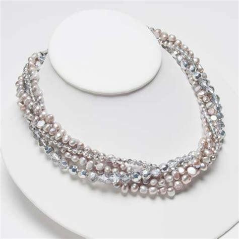 silver pearl silver necklace margaret palmer