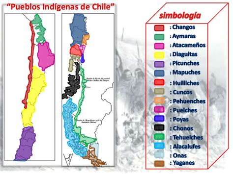 mapa america pueblos originarios historia y geograf 237 a mapa pueblos originarios de chile