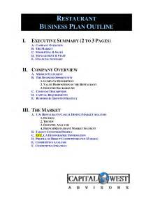 business plan template outline best photos of business outline sle business